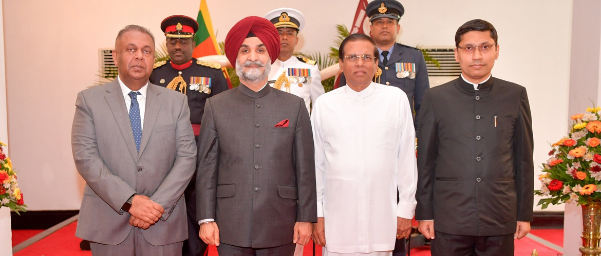 H.E Mr. Taranjit Singh Sandhu High Commissioner of India to Sri Lanka