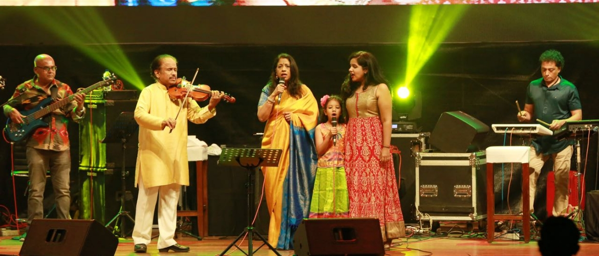 Musical evening in Colombo celebrates India and Sri Lanka @ 70 held at BMICH - 17 January 2018